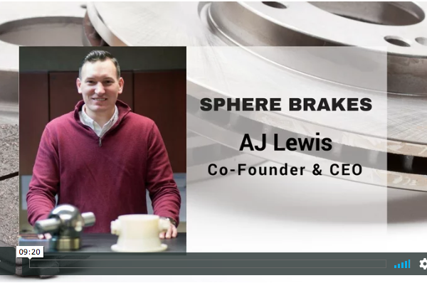 "Sphere Brakes Featured on ""The Brake Report"""
